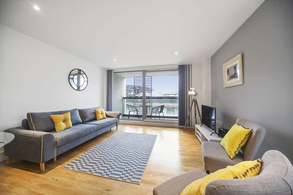 Executive Apart Daire, 2 Yatak Odası - Oturma Odası