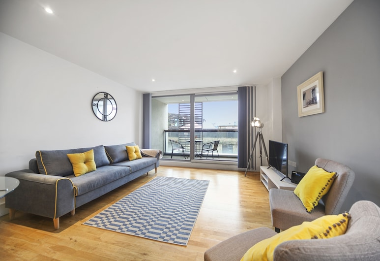2 Bed Executive Apartment Near Camden Market FREE WIFI, London, Executive-Apartment, 2 Schlafzimmer, Wohnzimmer
