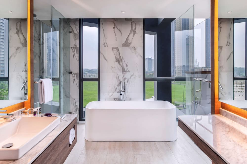 Superior-Suite, 1 Doppelbett - Badezimmer
