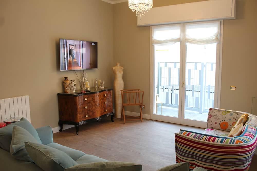 غرفة مزدوجة مريحة - غرفة معيشة