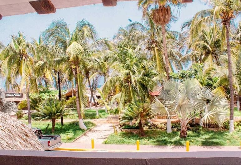 Hotel y Bungalows Acuario, Puerto Escondido, Terassi/patio