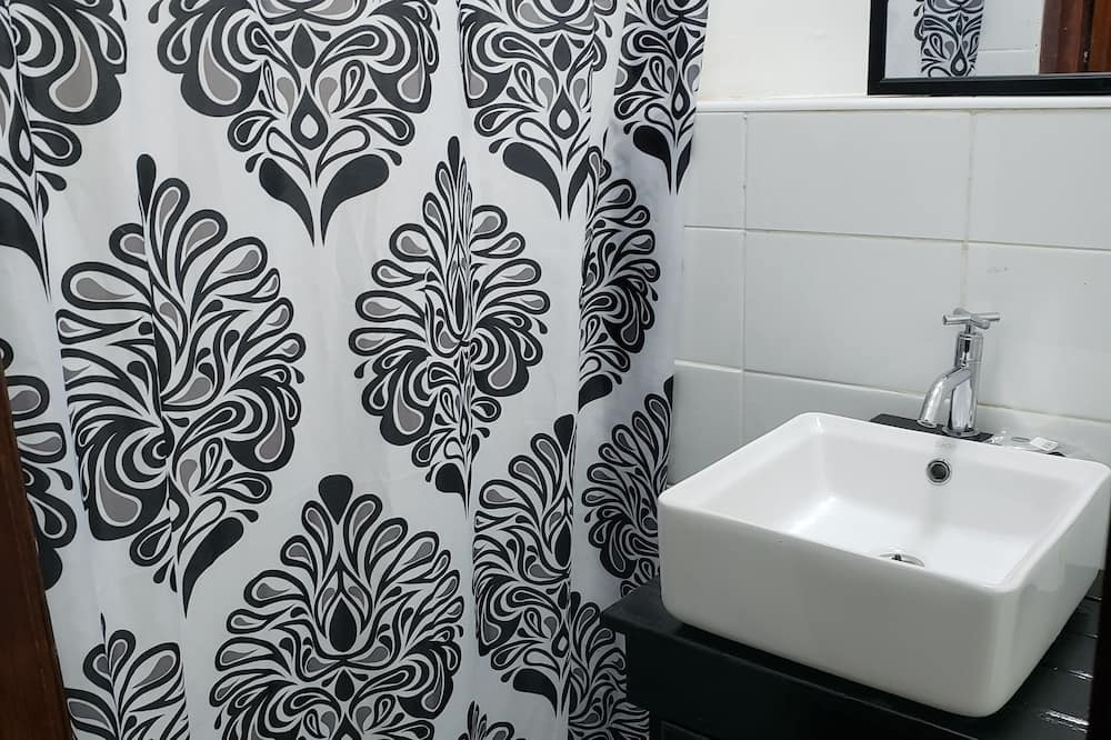 Appartement Ville, 2 chambres - Douche de la salle de bain