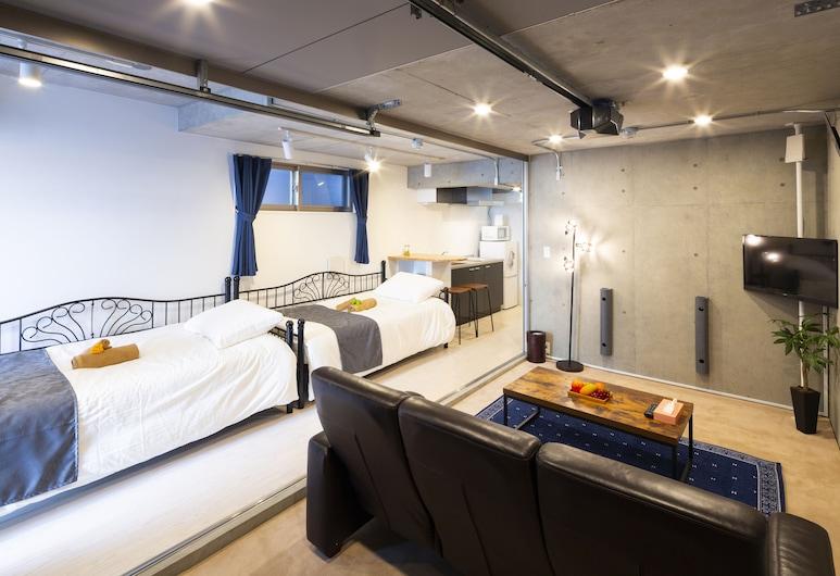 Laffitte Hirai Condominium Hotel, Токио, Дизайнерская квартира (101), Номер