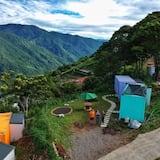 Двухместный номер с 1 двуспальной кроватью - Вид на горы
