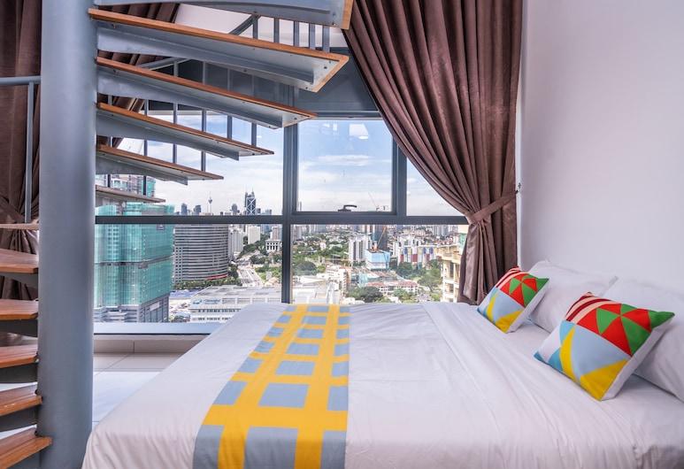 OYO ホーム 89596、ベッドルーム 2 室の素晴らしい 3 タワーズ, クアラルンプール, クラシック ルーム, シティ ビュー