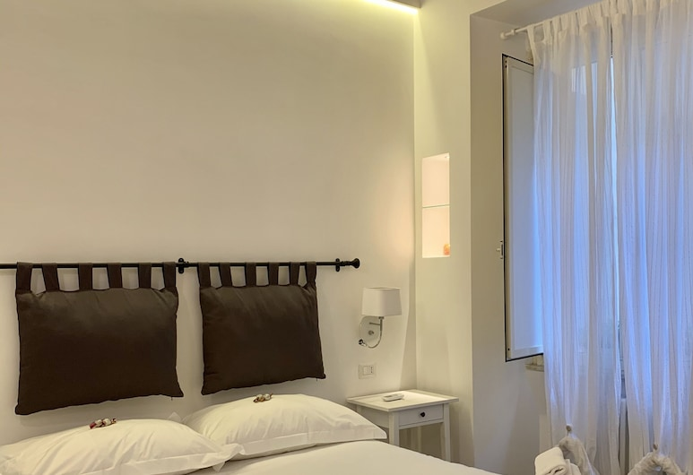 콜로세움 근처의 럭셔리 룸, 로마, 디럭스 더블룸 또는 트윈룸, 객실