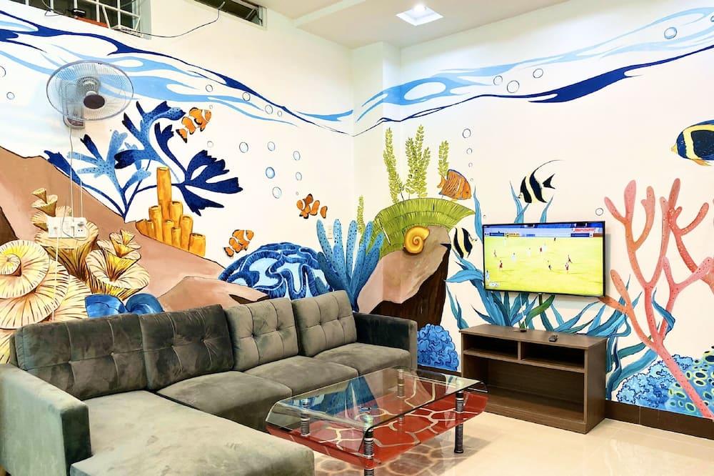 Standard Villa - Oturma Alanı