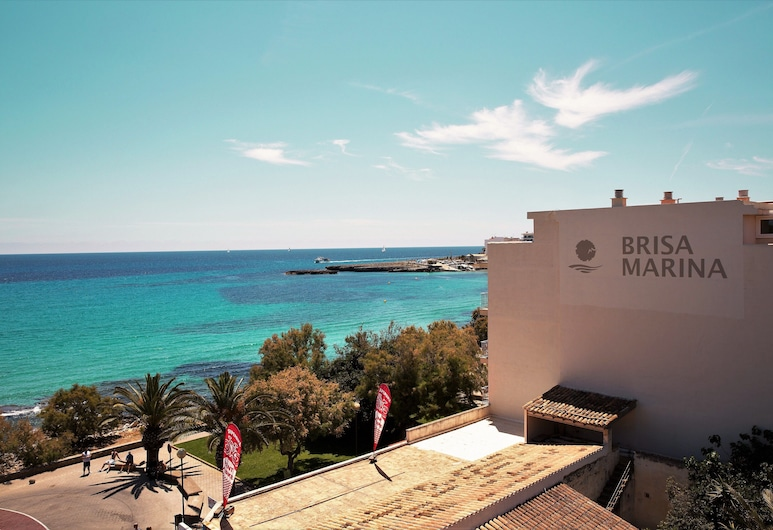 Hotel Brisa Marina, Sant Llorenc des Cardassar, Viešbučio fasadas