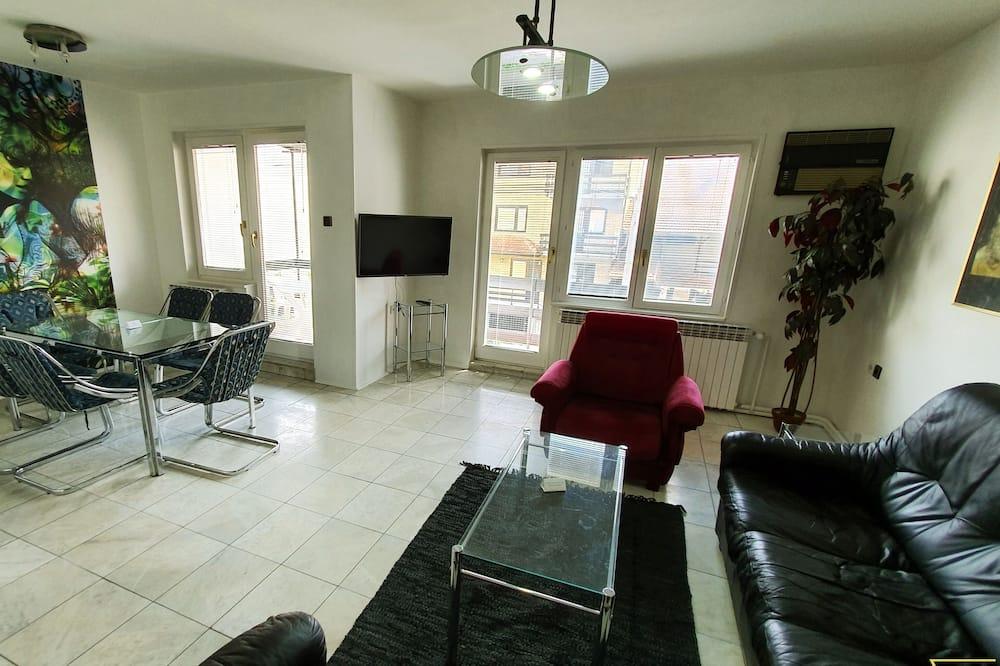 Deluxe-Apartment (1) - Wohnbereich