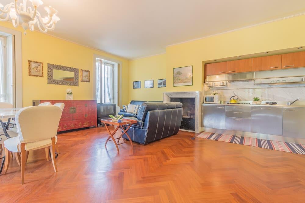Căn hộ, 2 phòng ngủ - Khu phòng khách