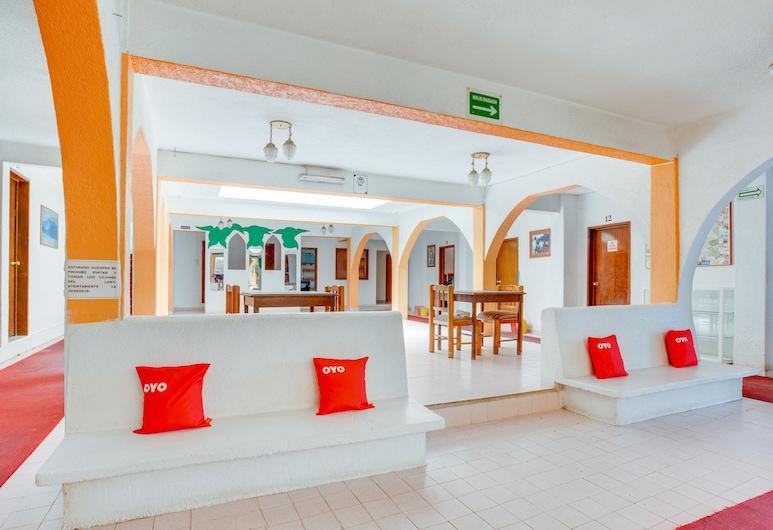 Hotel Huautla, Oaxaca, Lobby