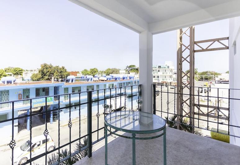 OYO Hotel Gandhi, Chetumal, Habitación estándar, Balcón