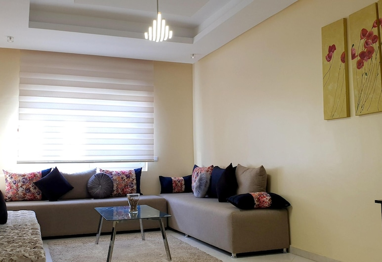 Apartment With 3 Bedrooms in El Jadida, With Wonderful City View and Balcony - 4 km From the Beach, El Jadida, Living Room