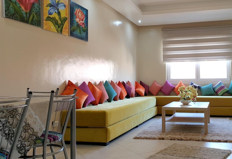 Apartment With 2 Bedrooms in El Jadida, With Wonderful City View, Furnished Balcony and Wifi - 4 km From the Beach, El Jadida