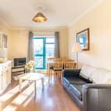 apartman, 1 queen (nagyméretű) franciaágy és egy kihúzható kanapé - Kiemelt kép