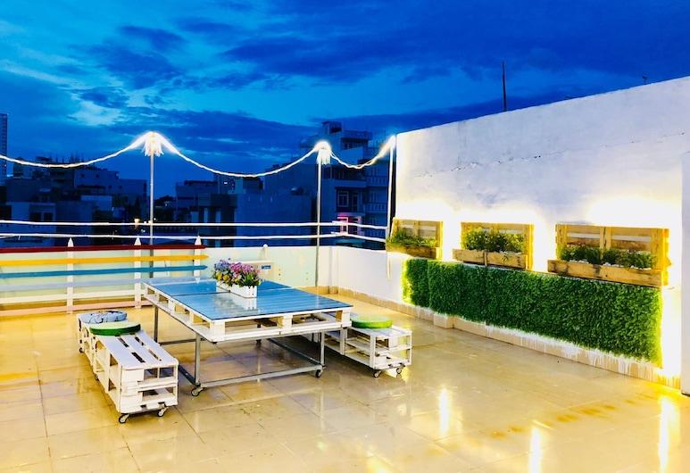 Tran Duy City Homes 3, Vung Tau, Fassaad õhtul