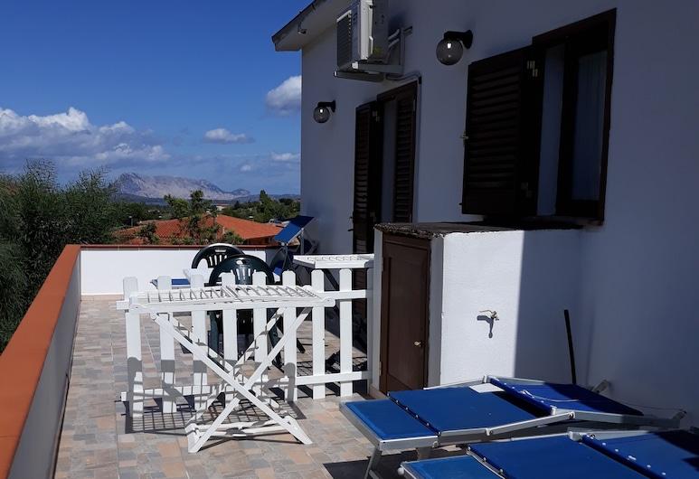 Sardegna Affitto Camere - San Teodoro, San Teodoro, Doppelzimmer, Terrasse, eingeschränkter Meerblick (2), Balkon