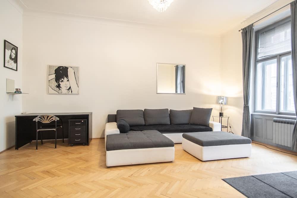 Apartment, Multiple Beds (Manesova 10 #4) - Living Room