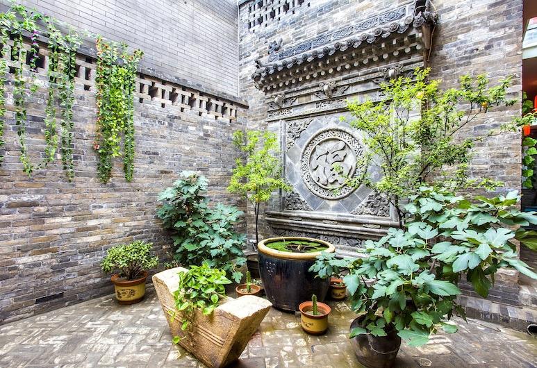 Pingyao Anyin Courtyard, Jinzhong, Innenhof