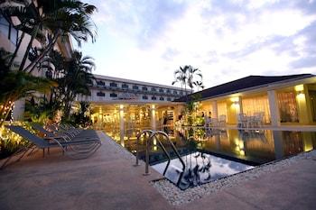 Vientian bölgesindeki Laotel Vientiane resmi