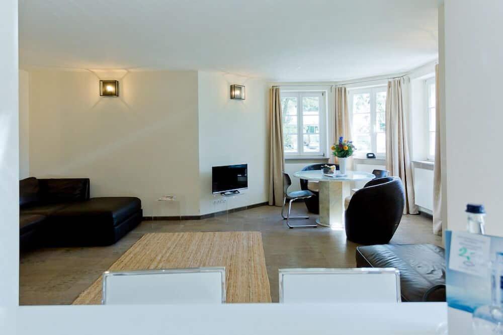 Apartment, Lake View (Gartenhaus) - Living Area
