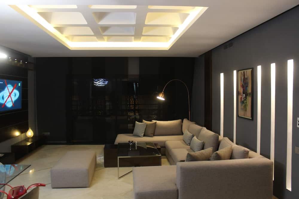 Apartament typu Deluxe, 2 sypialnie - Powierzchnia mieszkalna
