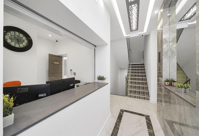 Collingham Prime Apartments, London, Interior Entrance