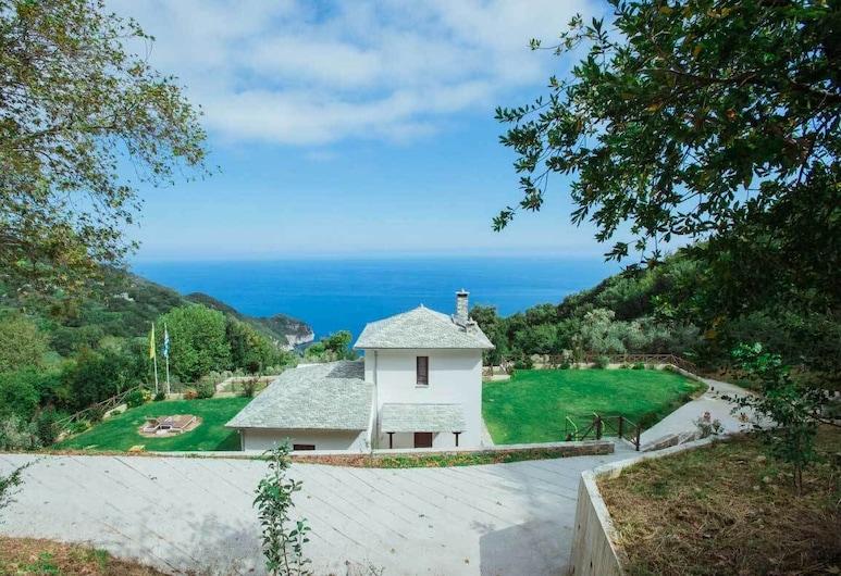 Villa Mylopotamos, Zagora-Mouresi, Entrada do estabelecimento