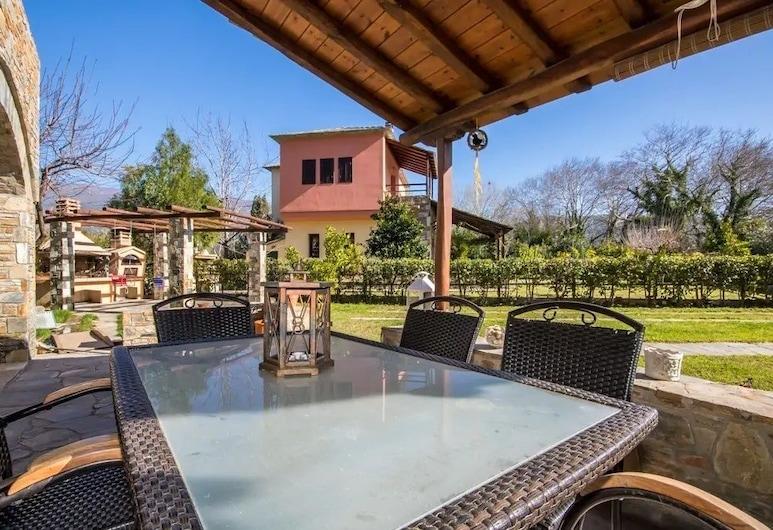 Villa Helios, South Pelion, Villa, 3 habitaciones, Terraza o patio