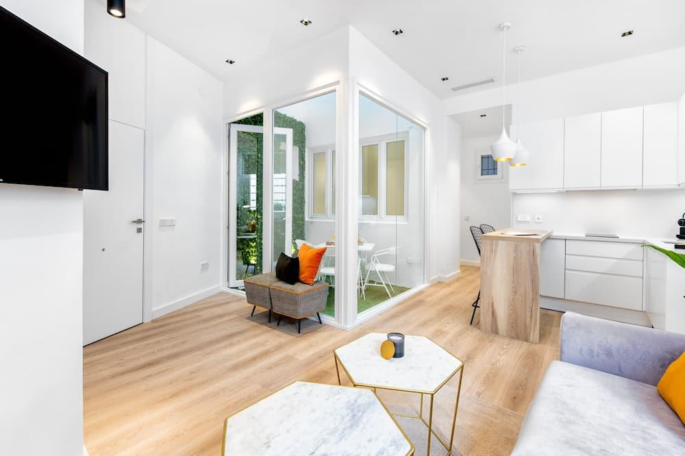 Apartment, 2 Bedrooms (Calderería II) - Living Area