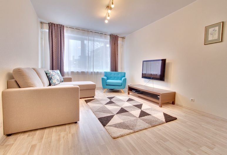 Daily Apartments- City Center Toompea, Tallinn, Apartment, 1 Bedroom, Living Room