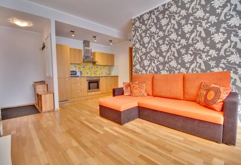 Daily Apartments -Two Bedroom Apartment , Tallina, Dzīvokļnumurs, viena guļamistaba (Sauna), Dzīvojamā zona