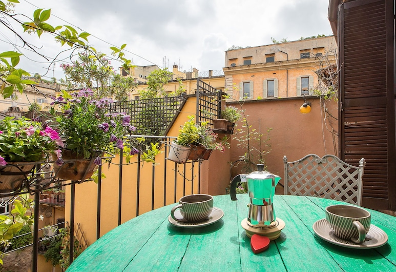 艾科奇亞姆貝拉頂層房 - 羅馬出租屋飯店, 羅馬, 公寓, 1 間臥室, 露台