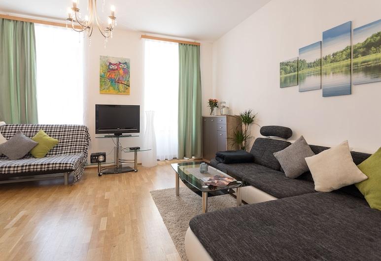 St.Stephen's 10Min-52qm-Quiet & Central, Vienna, Apartment, 1 Bedroom, Bilik Rehat
