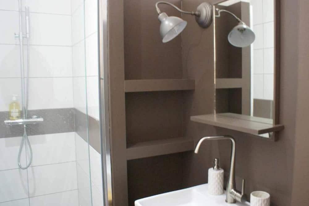 Dom typu City, súkromná kúpeľňa, výhľad na záhradu (DUPLEX N3) - Kúpeľňa