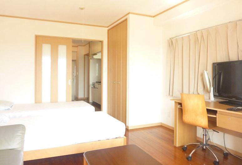 Ocean Front Miyakojima, Ostrov Miyako, Dvojlôžková izba (Apartment), Obývačka