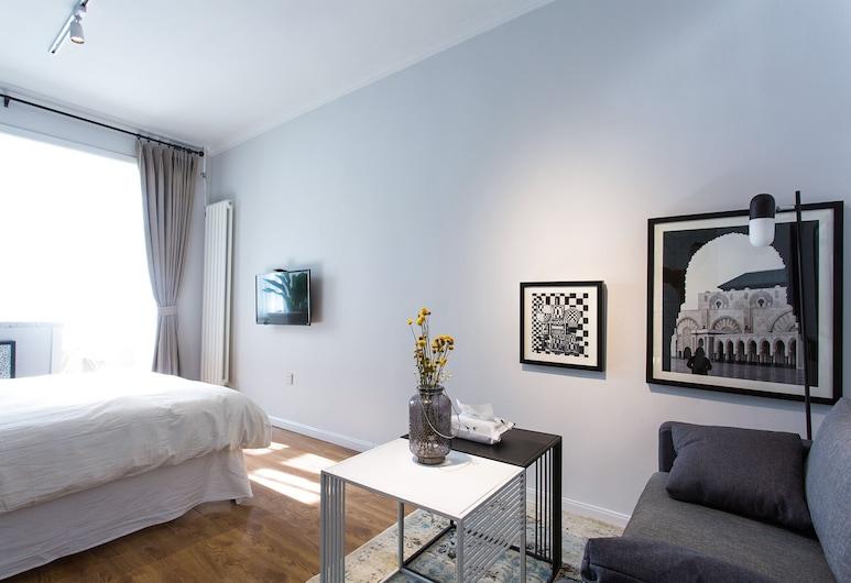 16 號民宿摩登時尚美式之家三里屯太古里國貿, 北京市, 两室, 客房