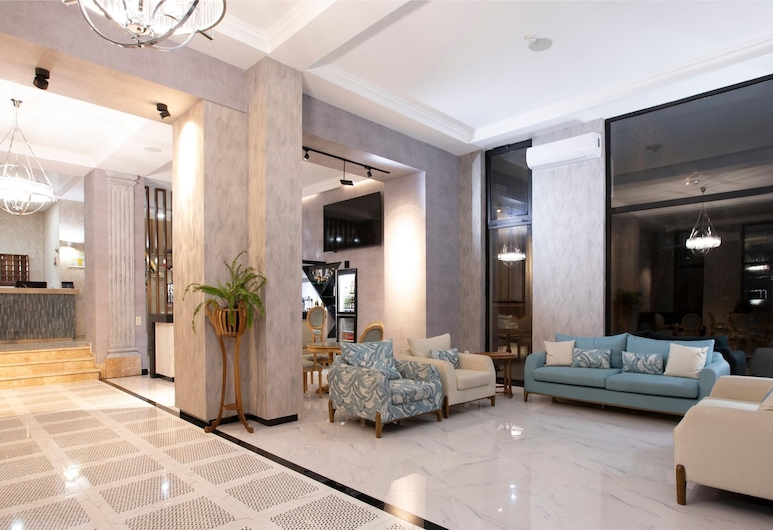 Park Hotel Tskaltubo, Ckaltubo, Priestory na sedenie v hale