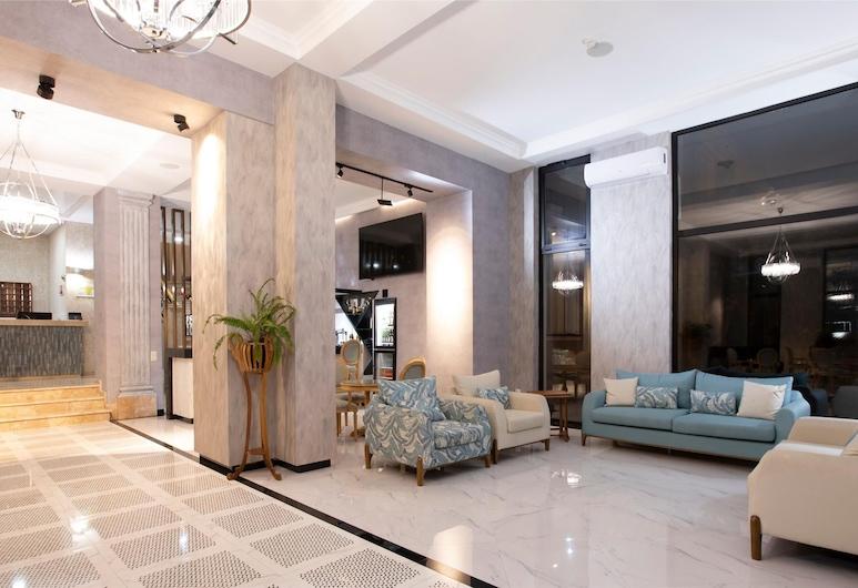 Park Hotel Tskaltubo, Tsqaltubo, Ruang Duduk Lobi