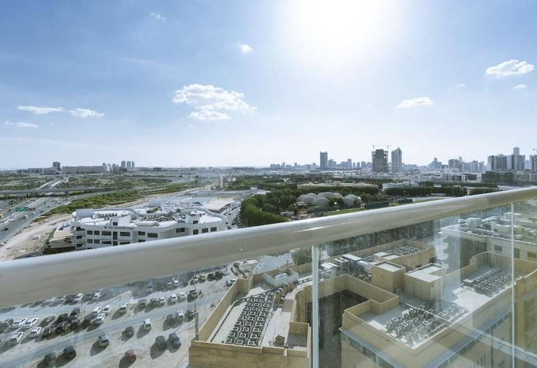 Splendid 1BR Apartment in Arjan Privà Living, Dubai, Balcony
