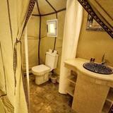 Luxe tent - Badkamer