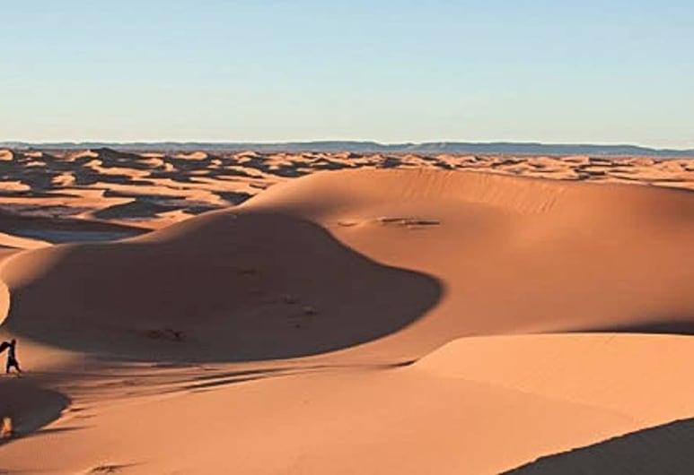 Bambara Desert Camps, Taouz, Luksus-telt, Udsigt fra værelset