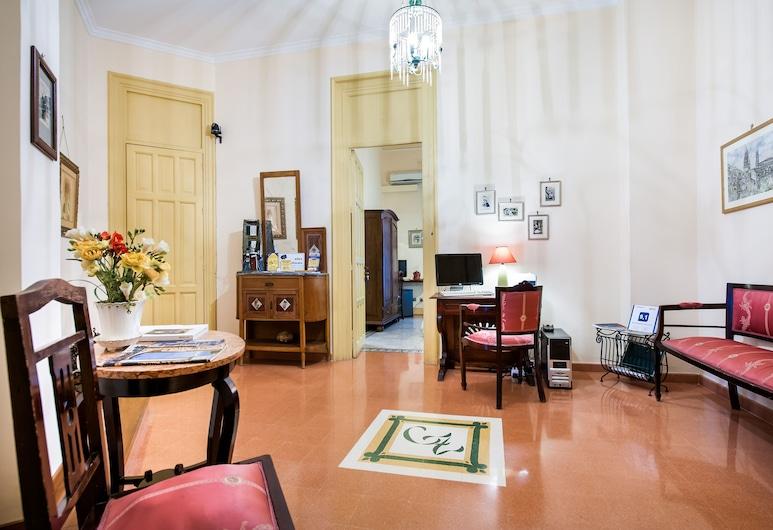 La Casa di Zoe, Palermo, Khu phòng khách tại tiền sảnh