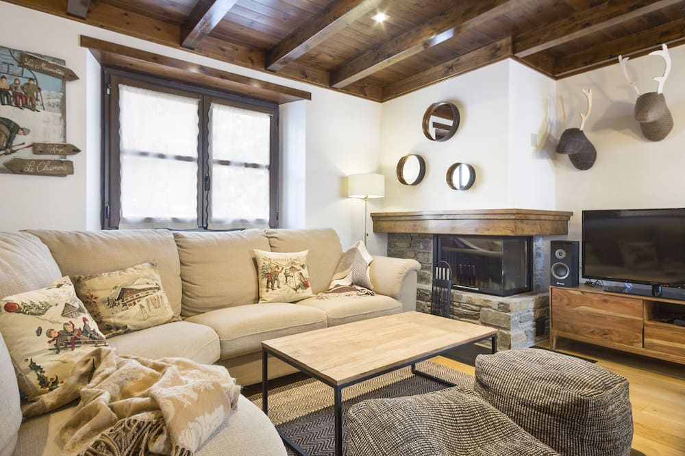 Apartman (2 Bedrooms) - Dnevna soba