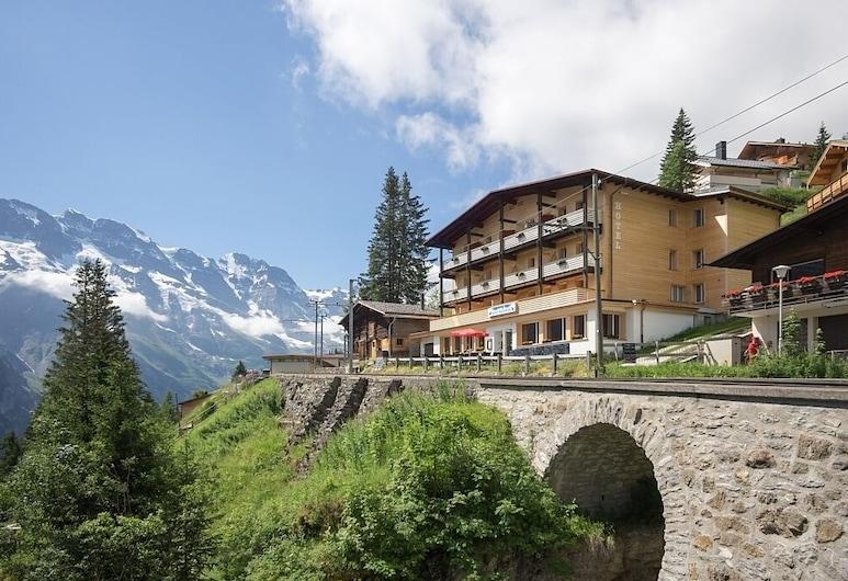 Hotel Alpenblick Mürren, Lauterbrunnen, Hotelfassade