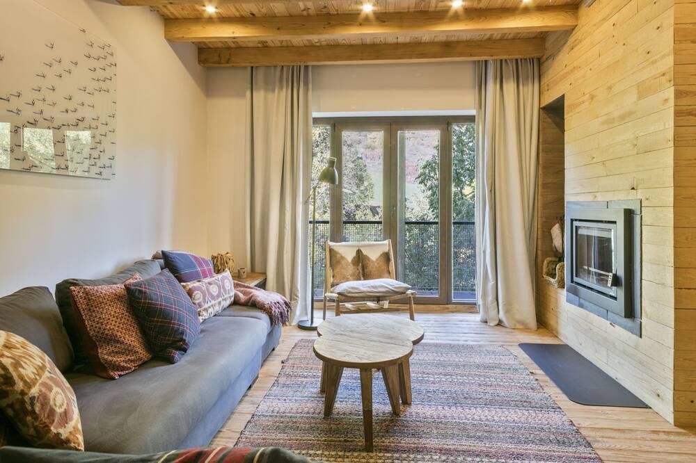 Appartement, 4 slaapkamers - Woonkamer