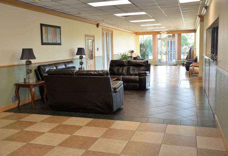 Buckeye Inn Express, Columbus, Lobby Sitting Area