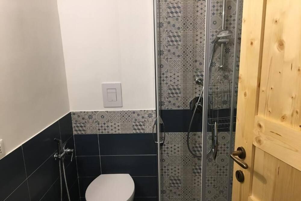 Doppelzimmer, Balkon (Anfora) - Badezimmer