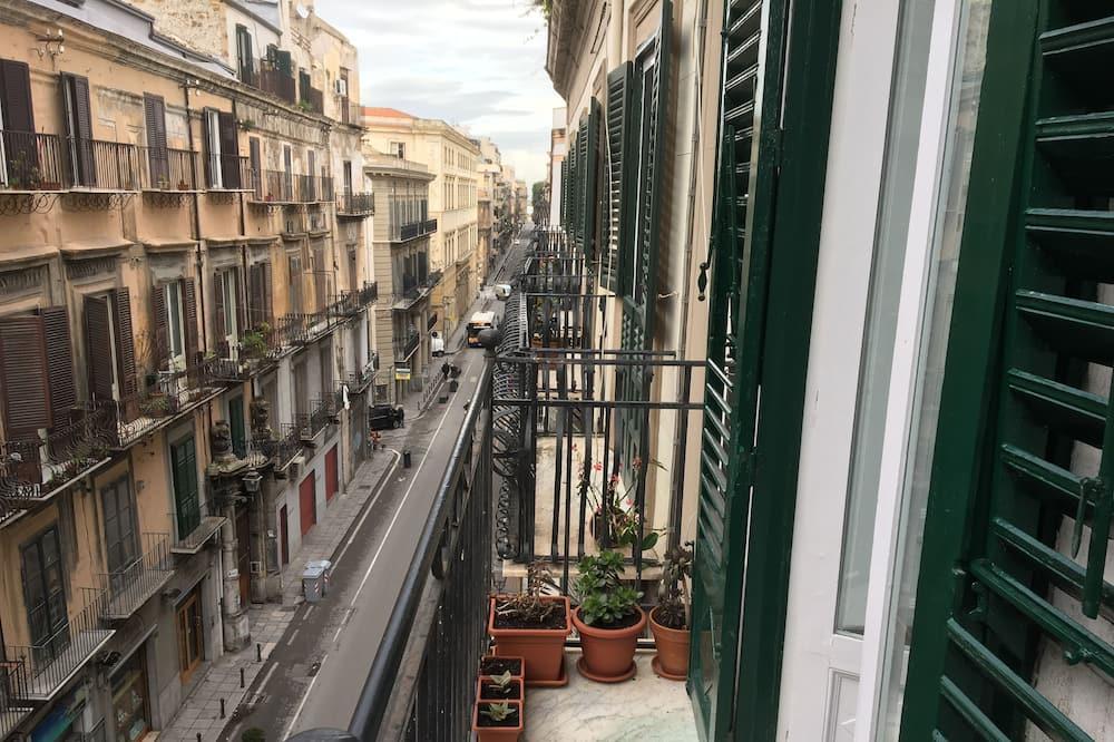 Doppelzimmer, Balkon (Anfora) - Blick vom Balkon