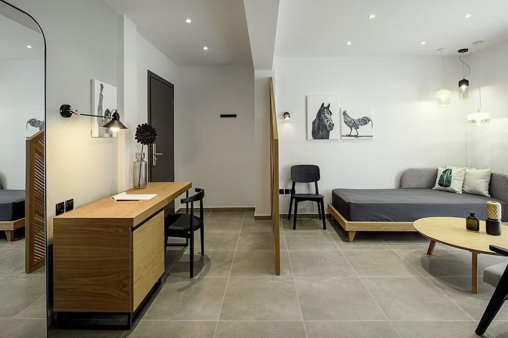 Luxury-huone - Oleskelualue